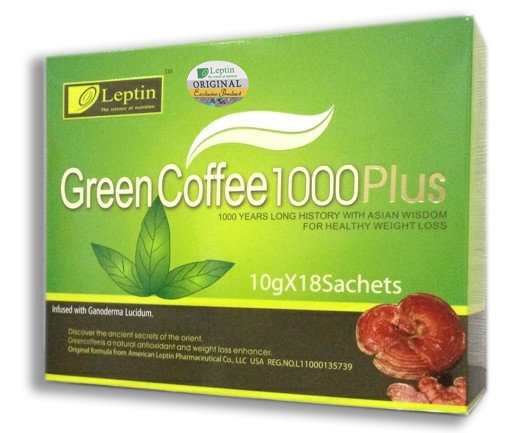 Genuine, Original Green Coffee 1000 & 1000PLUS +