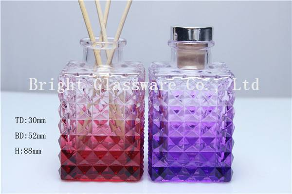 Hot sale design perfume glass bottle in China