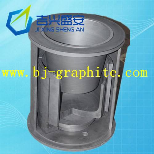 High temperature sintering graphite mold