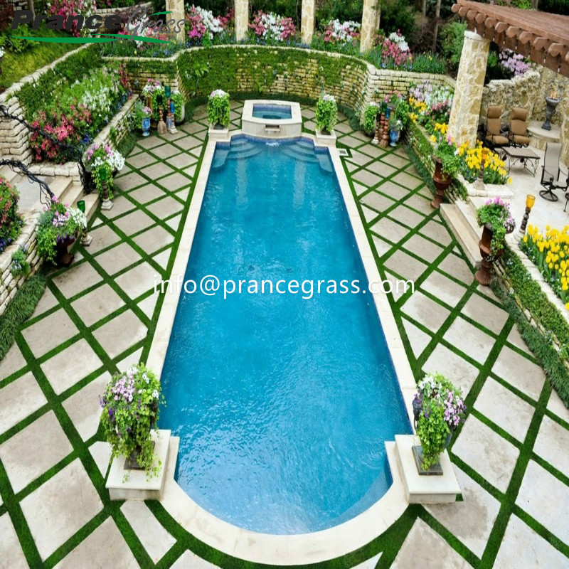 Made in China Most Popular Synthetic Grass for Landscaping