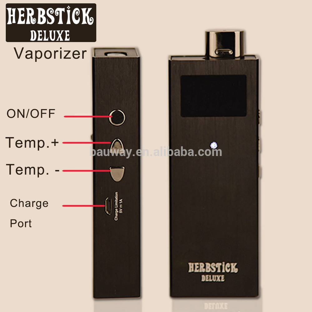 Wholesale KY02 dry herb vaporizer with Vibrating remind function