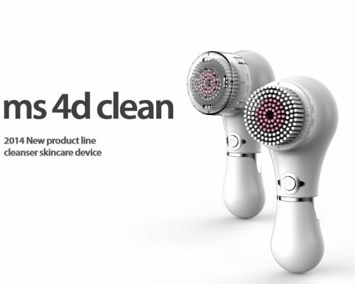Ms 4D Clean, 4 motion Facial Cleansing Machine, beauty device, skincare