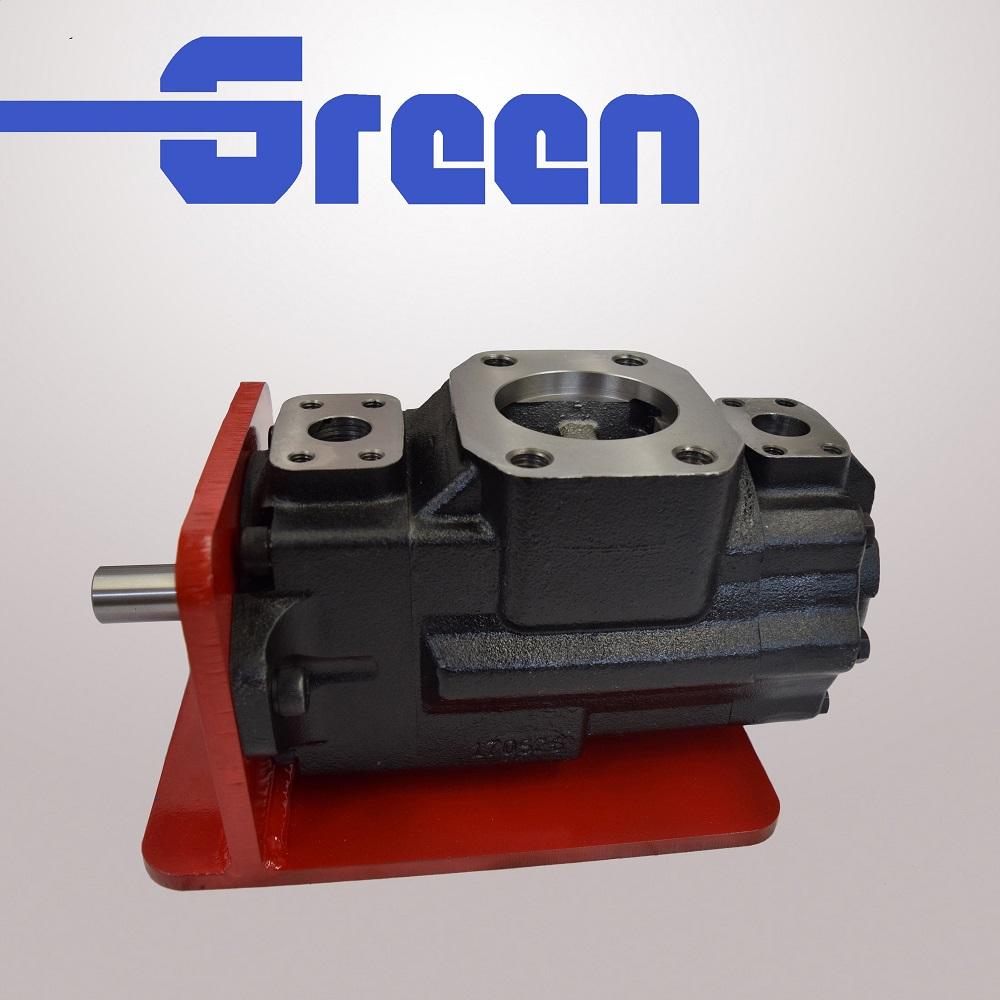 Parker denison T6 T7 hydraulic double vane pump