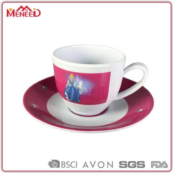 Afternoon tea sets, tea/ coffee melamine cup & saucer set