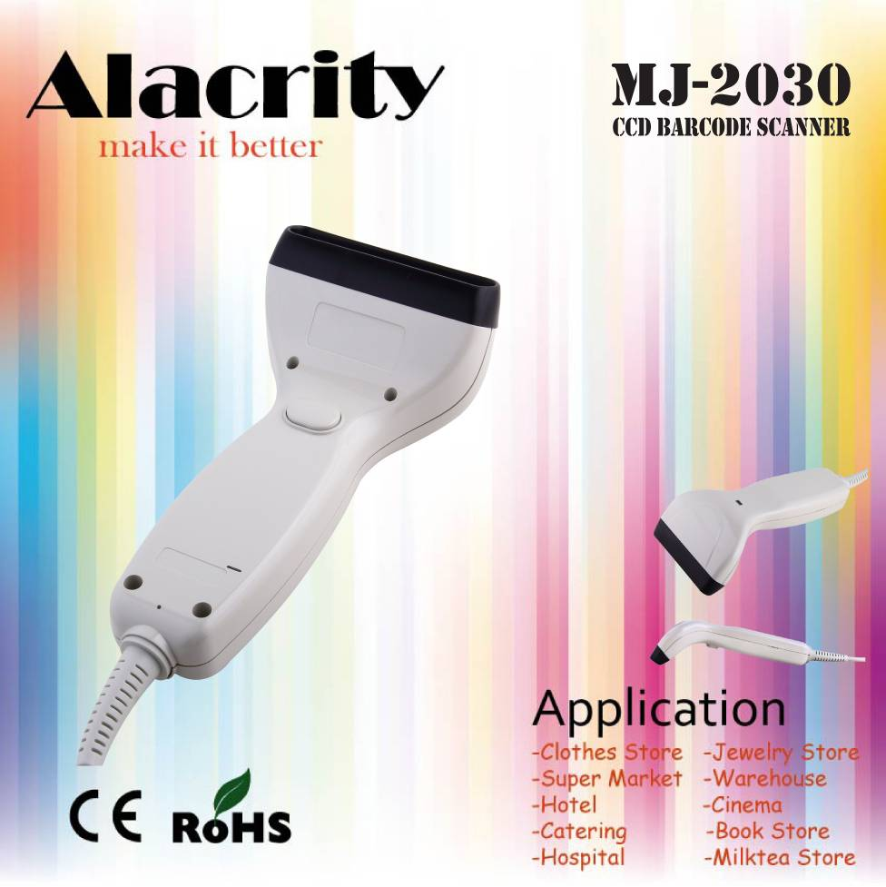 Hot selling and Cheap CCD Barcode Scanner