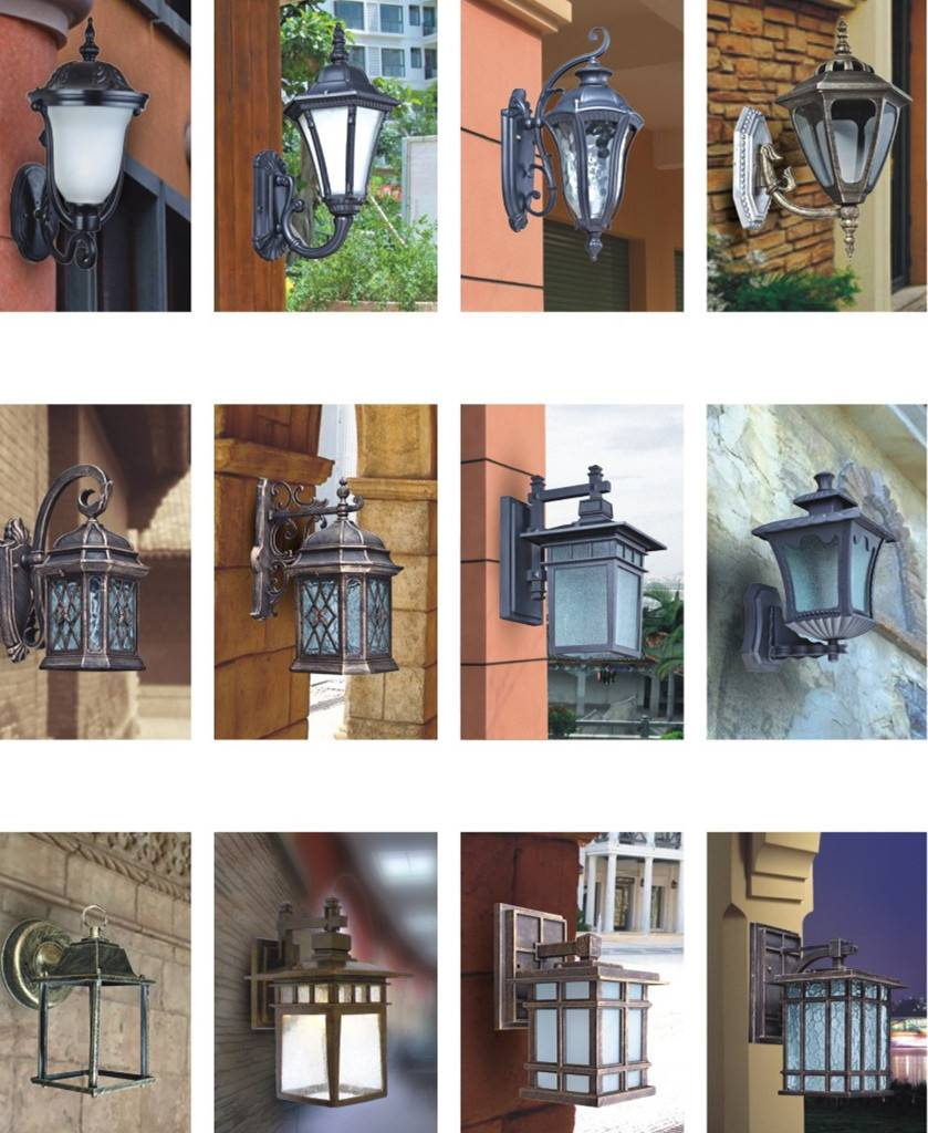 Up and down Aluminum steel decorative 6W outdoor wall light