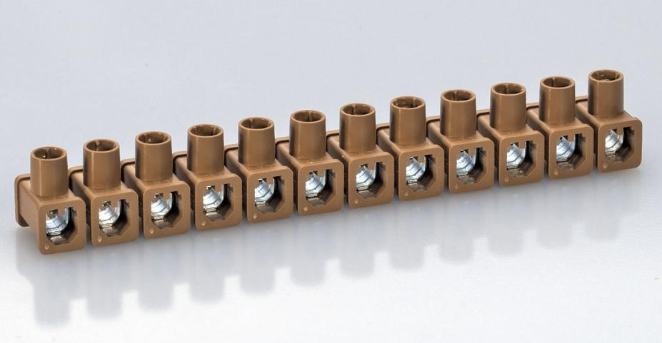 Single-Screw Terminal Blocks Two Side Open