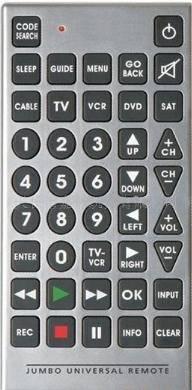 Jumbro remote control,universal remote control