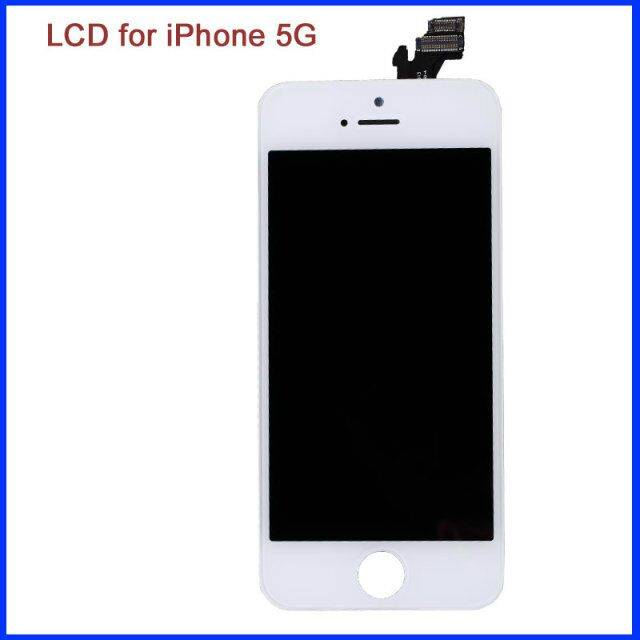 Low price with best quality lcd replacement for iphone 5