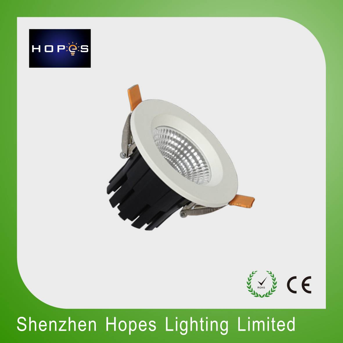2.5'' COB 7W led down light ceiling spot