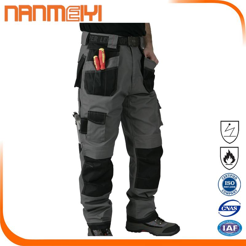 Workwear Trouser with Multi Pockets Cargo Trousers