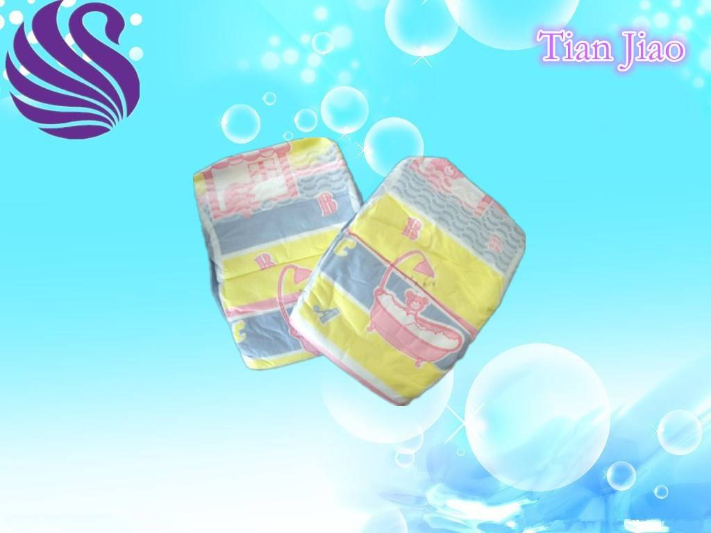 Super Care and Eco-Friendly Disposable Baby Diaper
