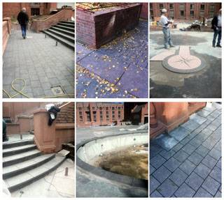 Flamed Steps, Coping, Pavers & Tumbled Pavers
