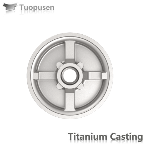 Titanium investment casting Grade 2