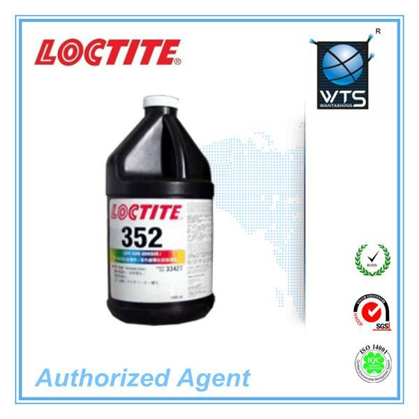 Loctite 352 , plastic, metal, glass, high viscosity UV glue