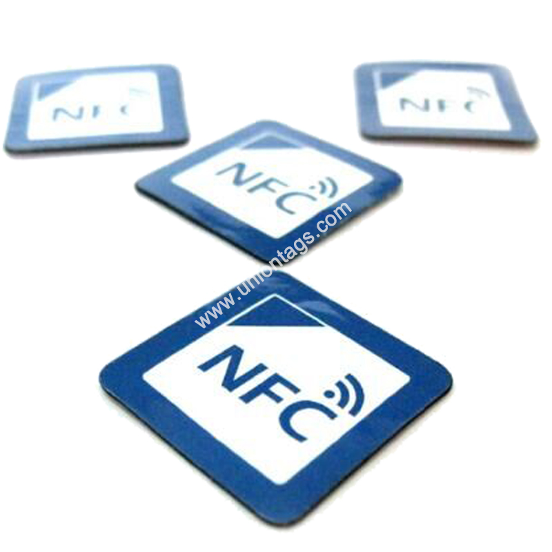 NFC Anti-metal Tag with Adhesive Paper, Ferrite Layer