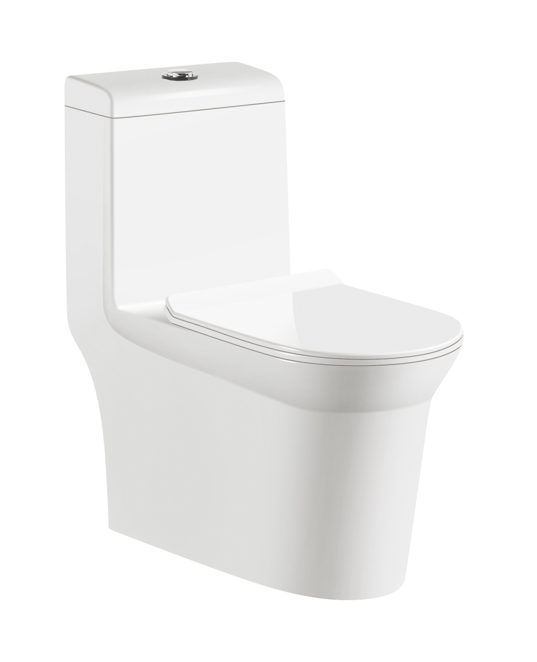 Big Pipeline 8.0 Siphonic Close-coupled Toilet Sanitary Ware WC Bathroom Design