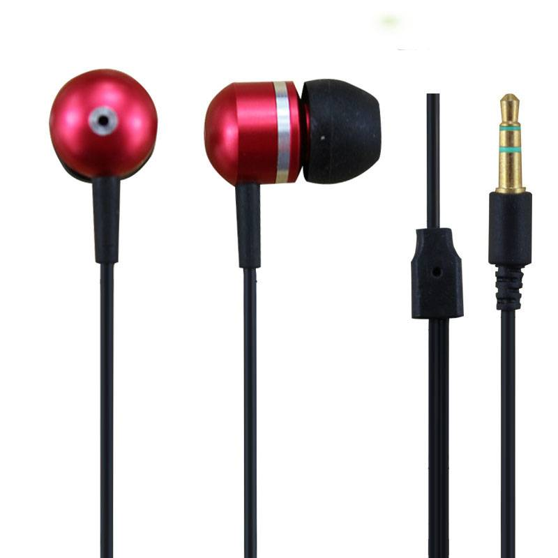 Factory fashion metal earphone