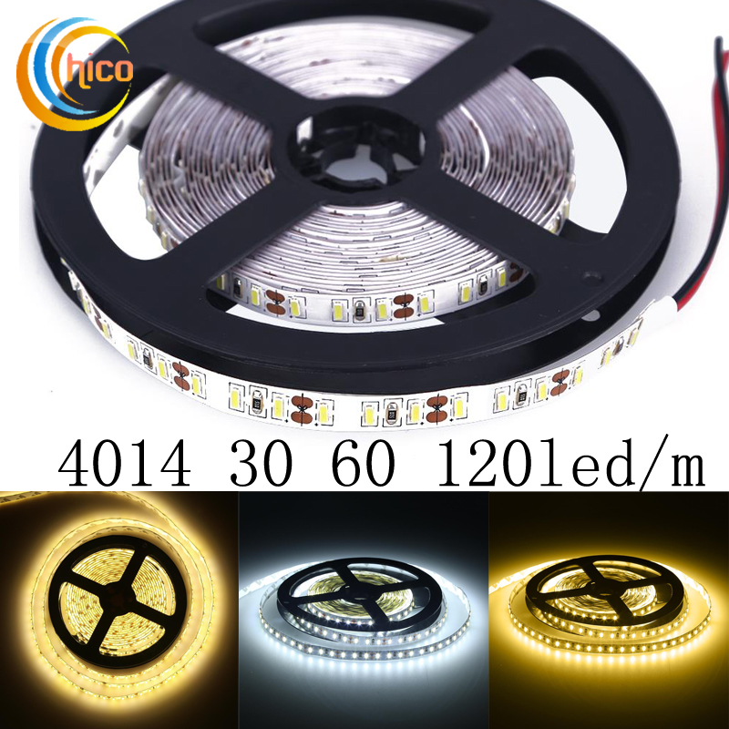 Project lights led strip lights SMD 4014 led strip 30 60 120 led/m 12v led strip light