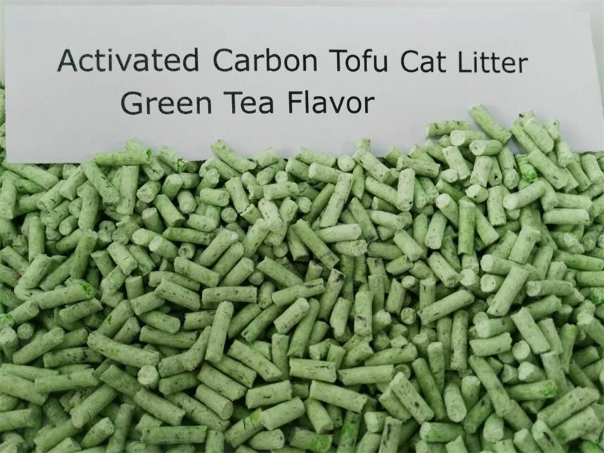 Activated carbon Natural tofu cat litter