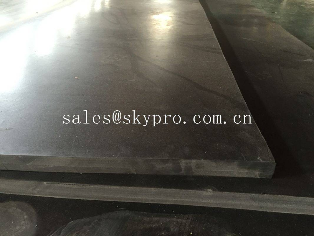 SBR rubber plate sheet black rubber board 80mm max thick