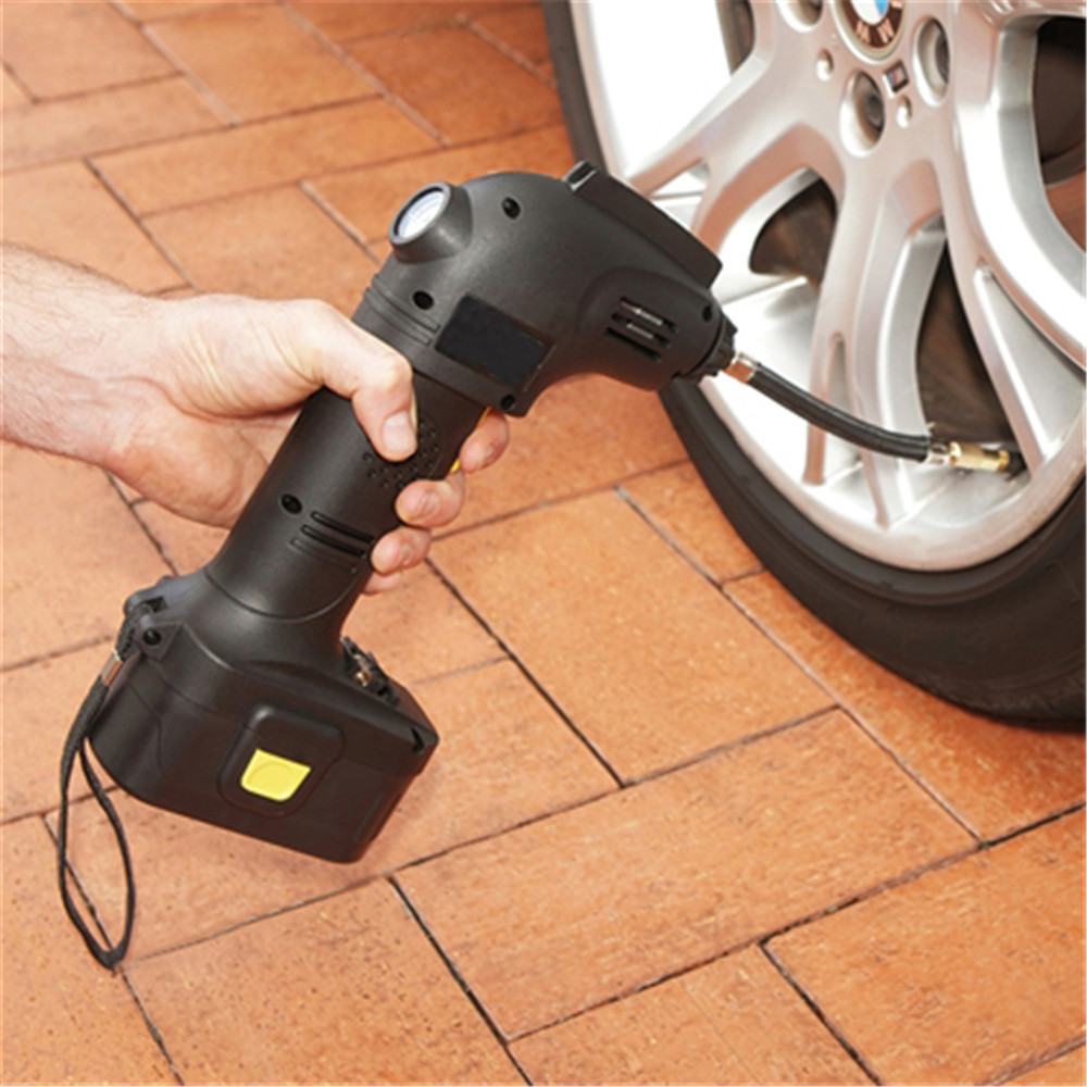 luxury rechargeable 120 volt air compressor with power bank