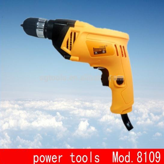 power tools 10mm Aluminum alloy gear box electric drill