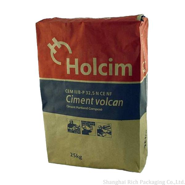 Cement Kraft Paper Bags With Valve
