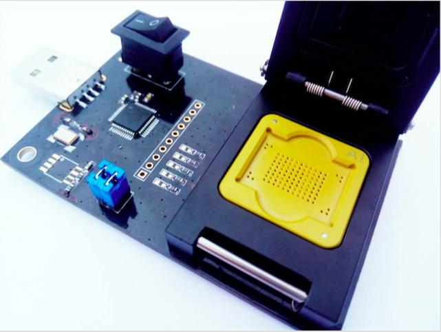 eMMC BGA100 USB Adapter,BGA Test Socket for BGA100 test and mobile forensics