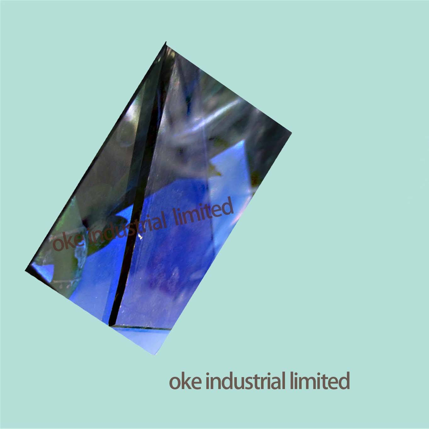 6MM DARK BLUE TINTED GLASS /REFLECTIVE GLASS