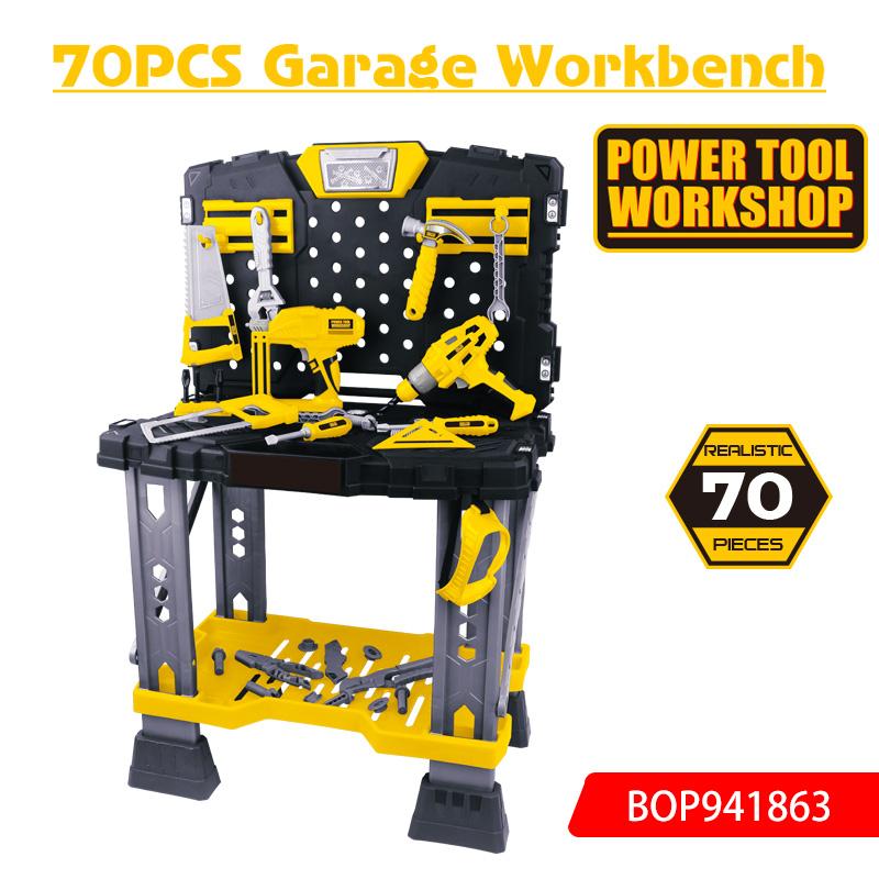 PT 70PCS Garage Workbench toys