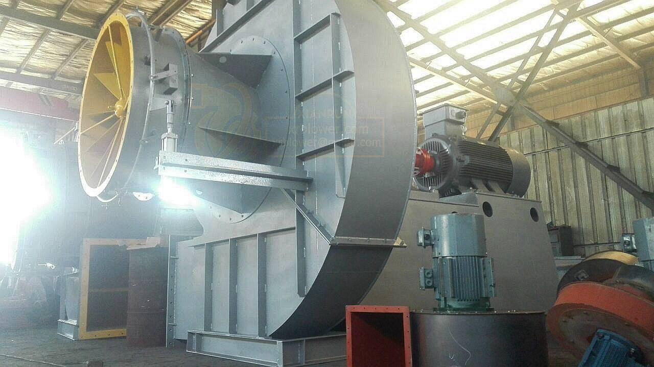 High Pressure Blowers for Industrial Boilers