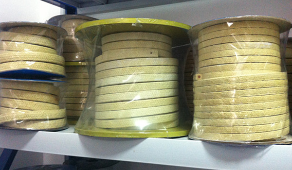 aramid fiber braided packing with fiberglass core reinforced