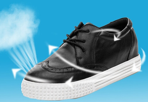 new han edition leather casual shoes breathable leather lady shoes fashion shoes 801-3 students
