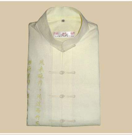 Tranditional chinese clothing-Tang suits(white )