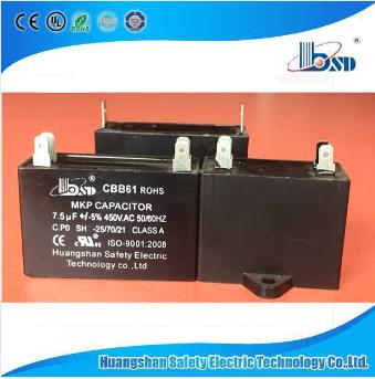 Cbb61 Fan Motor Run Capacitor, Capacitor for Fan