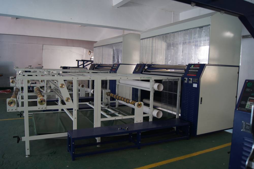 Digital T Shirt Roller Sublimation Heat Press Transfer Printing Machines BD610/1700