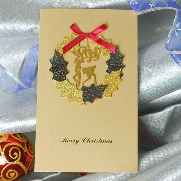 high-grade chrismas card we can make according to your design
