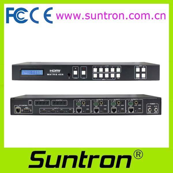 Suntron HD44HBT100 / HD88HBT100 HDMI Switcher (HDBaseT to 100m)