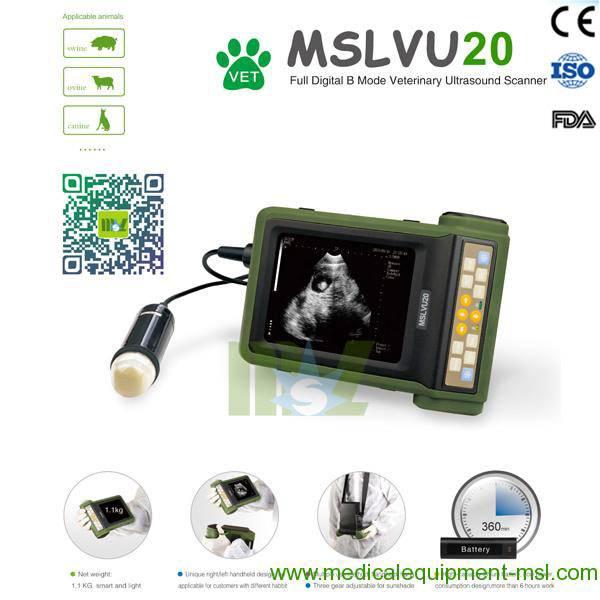 MSL veterinary ultrasonic diagnostic instrument for sale MSLVU20