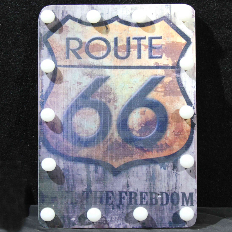 wooden decorative wall plaques led ground sign
