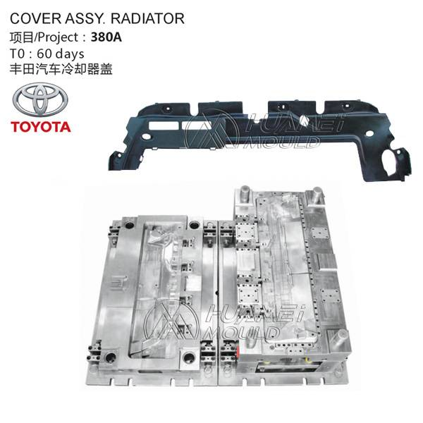 Auto Cover Assy. Radiator Mold