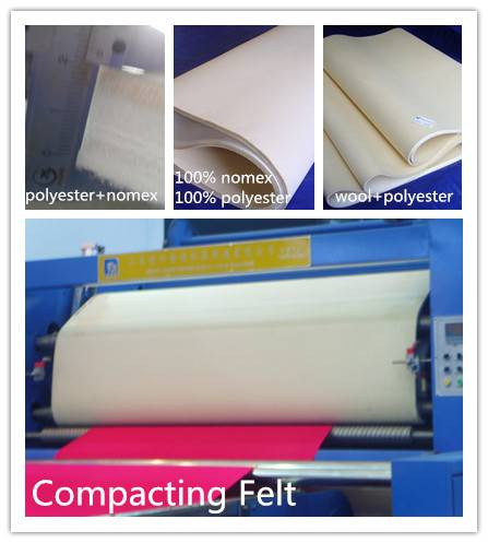 Compacting Needled Felt
