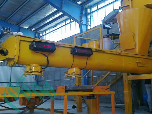 semi-automatic artificial stone productione line machine and equipment