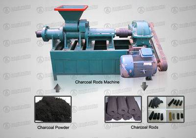 Charcoal Rods Machine
