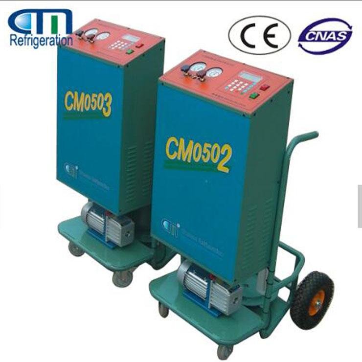 R410a semi-automatic car A/C refrigerant charging unit CM05/06