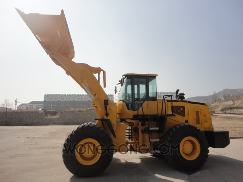 UNIONTO-650B 5t wheel loader  /cummins engine with low price and high quality