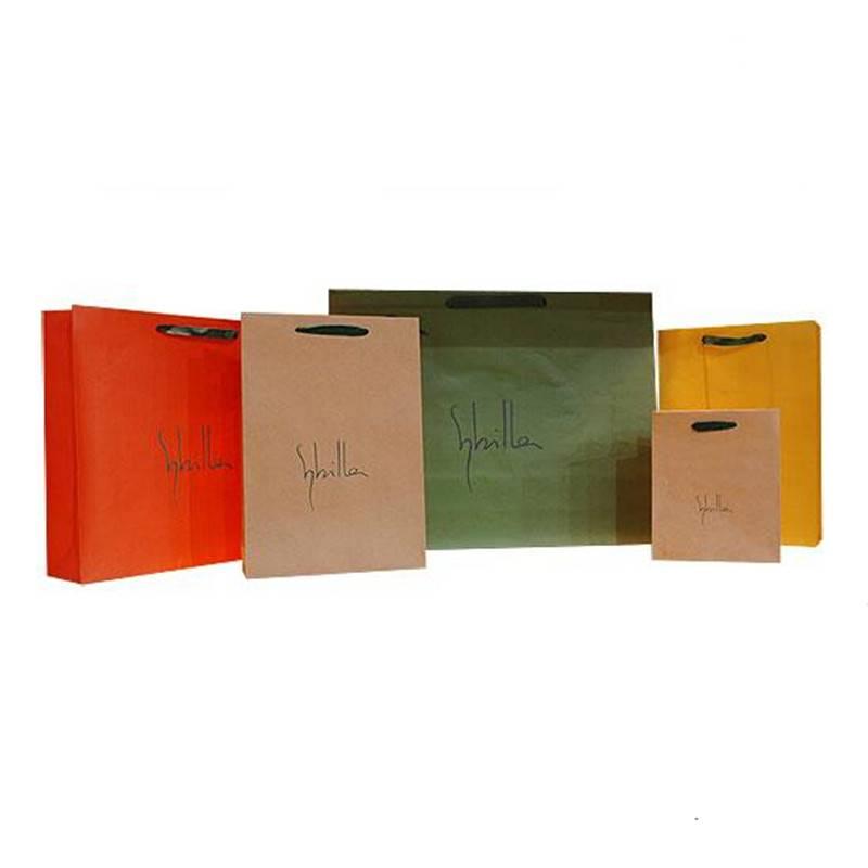 Promotion free design ad paper bag
