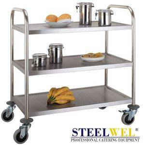 steelwel service cart