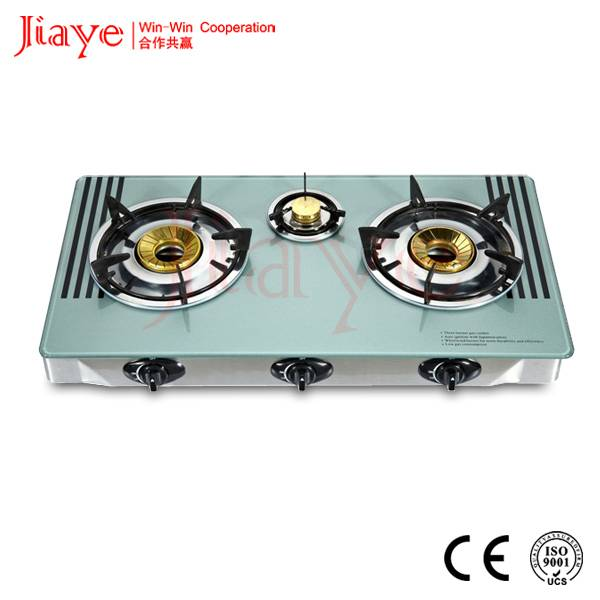 Jiaye gas burner hob, desk-mounted gas hob, table gas cooker JY-TG3002